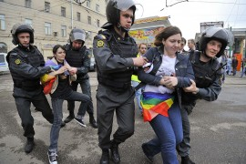 Opposition hold protest rally in Moscow