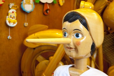 lying-nose