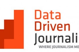Data driven journalism logo