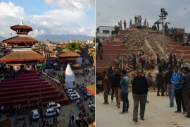 Nepal before after2
