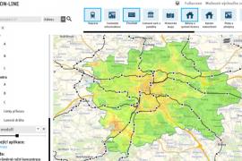 Mapa Praha