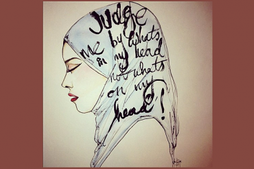 judge me by what is in my head not what is on my head