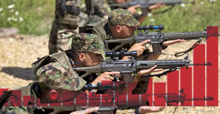 ČR má nový rekord ve vývozu zbraní. Nejvíce jich šlo do Iráku
