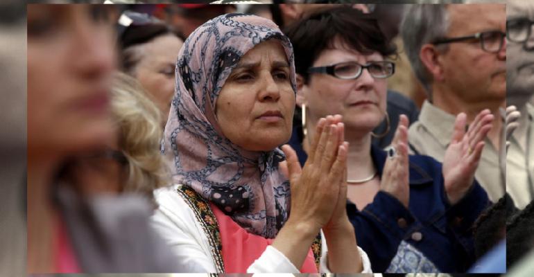 muslimové na mši